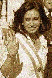 Presidente argentina Cristina Elisabet Fernández de Kirchner